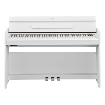 Yamaha YDPS54 88-Note, Weighted Action Console Digital Piano - White Walnut
