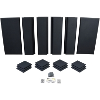 Primacoustic London 12 Acoustic Panel Kit in Black