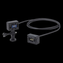 Zoom ECM-3 Extension Cable with Action Camera Mount (9.8')