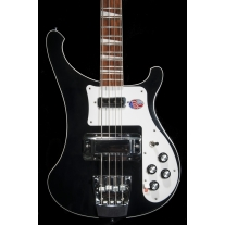 Rickenbacker 4003 Bass Jetglo Black with Case