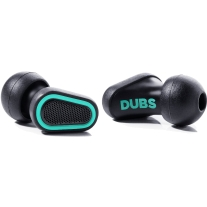 DUBS Acoustic Filters Advanced Tech Earplugs - Teal