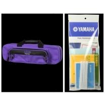 Alto Music Back to School Flute Bundle with Purple Gator Case & Maintenance Kit