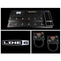 Line 6 HD500X with 2 FREE Mogami Gold Instrument Cables
