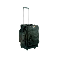 Arriba Cases Moving HEAD-Style Bag with Wheels & Pull Up Handle