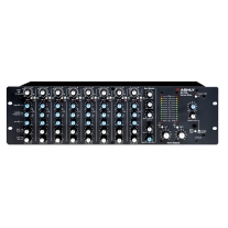 Ashly MX508 8-Input Stereo Mixer with EQ & Sends