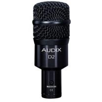 Audix D2 Dynamic Hypercardioid Instrument Microphone