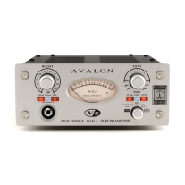 Avalon V5 Pure Class A DI-RE-Microphone Preamplifier