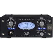 Avalon V5 Pure Class A DI-RE-Microphone Preamplifier - Black