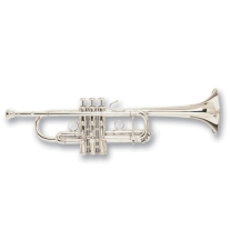 "Bach Stradivarius C180SL229PC ""Philly"" Silver Plated Professional C Trumpet"