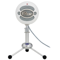 Blue Snowball-TW Microphone In Textured White