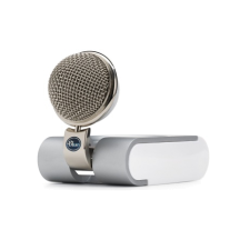 Blue Snowflake Microphone
