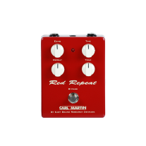 Carl Martin Red Repeat Delay Vintage Series Guitar Pedal