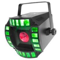 Chauvet Cubix 2.0 Multi Colored LED DJ Lighting Effect Unit
