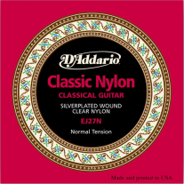 D'Addario EJ27N Classical Strings Student Nylon Normal Tension