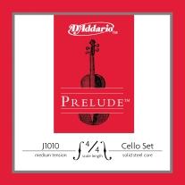 D'Addario J1010 Prelude Cello 4/4 Scale Medium Tension