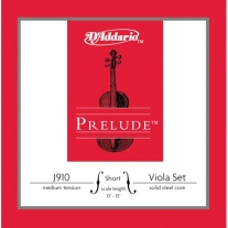 D'Addario Prelude Viola String Set Short Scale Medium Tension