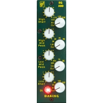 Daking EQ 500 4-Band Inductor Based on Console EQ