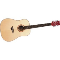 Dean Tradition Exotic Burled Maple Acoustic Guitar