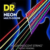 DR NEON NMCE9 Electric Strings, Light, Mulit-Colored