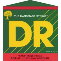 DR Strings 3RPML11 Rare Phosphor Bronze AcousticHex Core