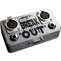 Duet Breakout Unbalanced Breakout Box in Silver