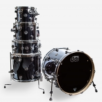 DW Performance Series 5pc Shell Kit in Chrome Shadow Finish Ply
