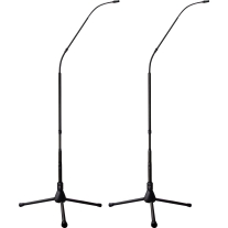 Earthworks FW430/HC-TPBMP 30 kHz 4.7 Foot Hypercardioid System with Tripod Base Matched Pair