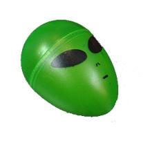 EBE Green Alien Head Shaker