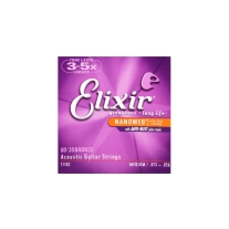 Elixir 11102 Nanoweb 80/20 Bronze Acoustic Strings