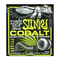 Ernie Ball 2721 Regular Slinky Cobalt Electric Guitar Strings