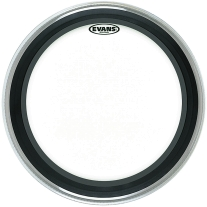 """Evans BD20EMAD 20"""" Clear EMAD Bass Drum Head"""