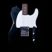 Fender Custom Shop Limited 1959 Esquire Relic Electric Guitar in Black