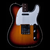Fender Custom Shop '61 Relic Telecaster Guitar 3-Tone Sunburst