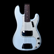 Fender American Vintage 63 Precision Bass RW Faded Sonic Blue w/ Case