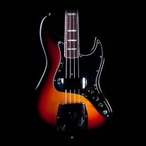 Fender American Vintage 74 Jazz Bass 3 Color Sunburst w/ Case