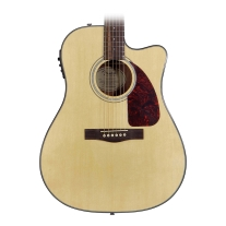 Fender CD140SCE Acoustic/Elec Guitar in Natural