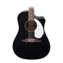 Fender Sonoran SCE Acoustic/Electric Guitar in Black