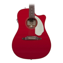 Fender Sonoran SCE Acoustic/Elec Guitar in Candy Apple Red