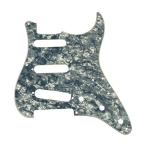 Fender Standard Strat Pickguard in Black Pearl