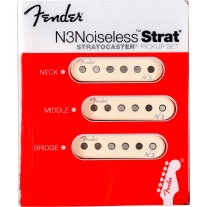 Fender N3 Noiseless Pickup Set for Strat