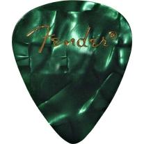 Fender Thin Green MOTO Pack 12 Picks