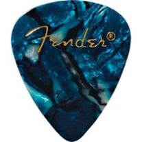 Fender Thin Ocean Turquoise Pack 12 Picks
