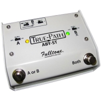 Fulltone Custom Shop True Path Soft Touch ABY Box with JFET Buffers