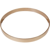 "Gibraltar Wood Bass Drum Hoop 22"" Natural Maple"