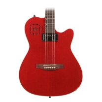 Godin A6 Ultra Semi Acoustic Trans Red HG with Gig Bag