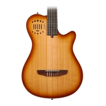 Godin Multiac Grand Concert Duet Ambiance Lightburst High Gloss