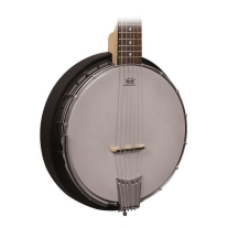 Gold Tone AC6 Banjitar 6 String Banjo Composite Resonator w/ Gig Bag