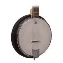 Gold Tone AC6 Banjitar 6 String Banjo Composite Resonator w/ Gig Bag
