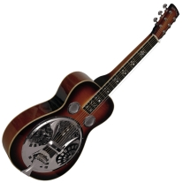 Gold Tone PBS-D Paul Beard Resonator Deluxe in Sunburst
