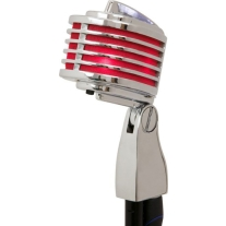 Heil The Fin Dynamic Microphone in Red